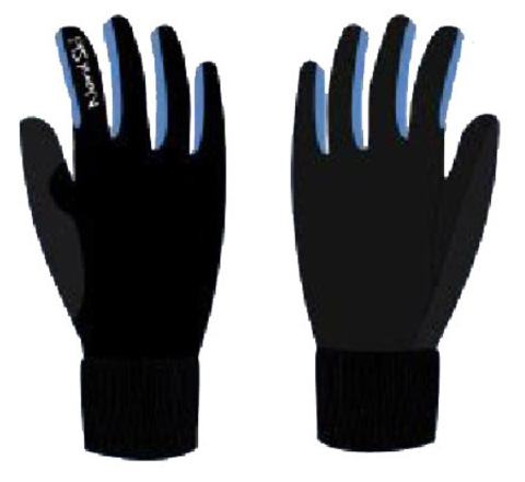 Nordski Active WS лыжные перчатки black-blue