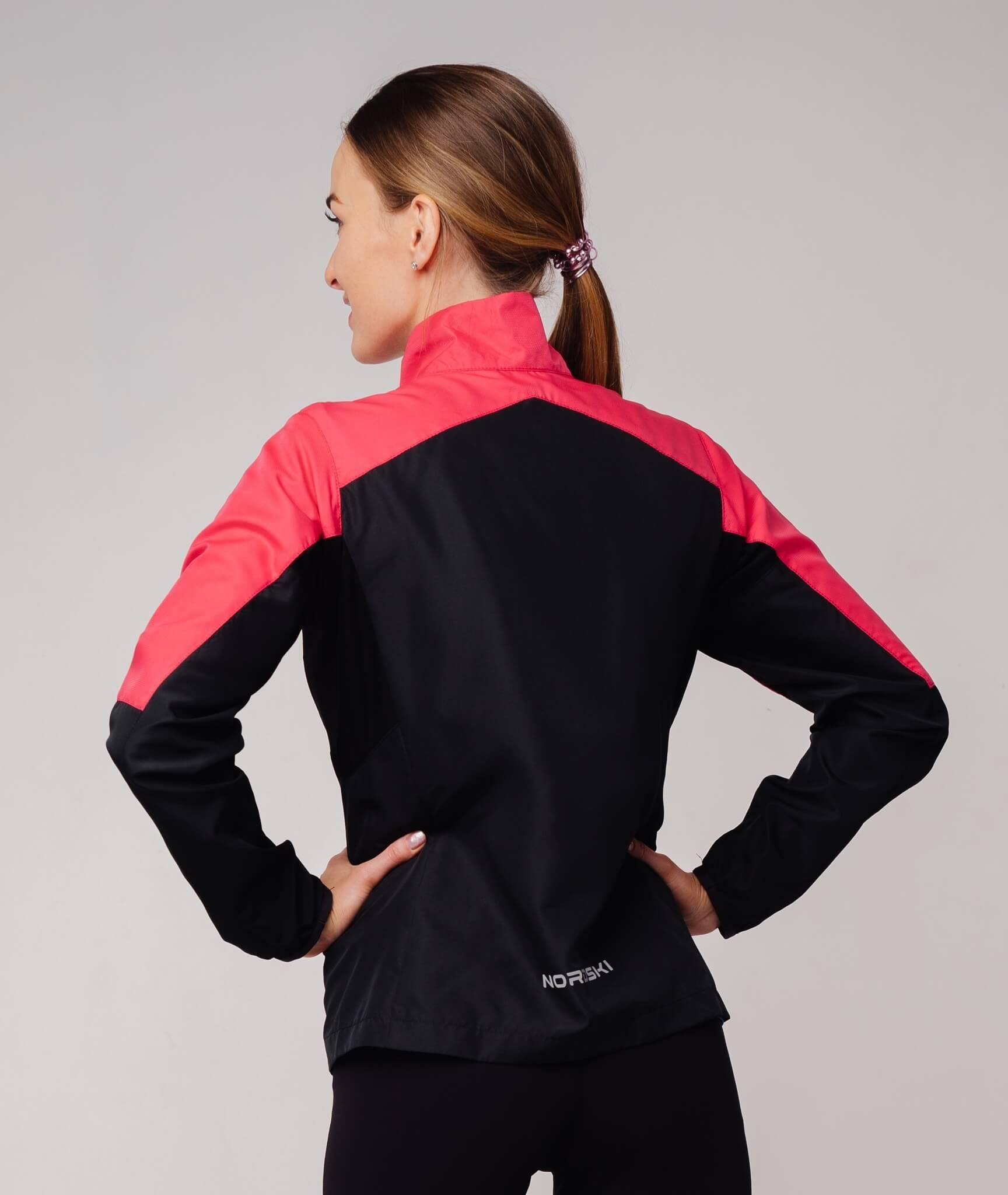 Nordski Sport костюм для бега женский pink-black - 2