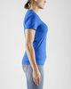 Craft Deft 2.0 футболка женская синяя - 4