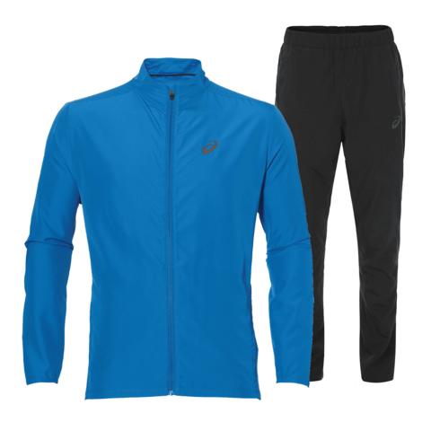 Костюм для бега мужской  Asics Woven blue
