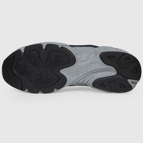 Asics Gel Bnd кроссовки прогулочные мужские черные-бирюзовые