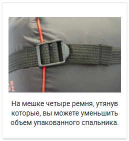 Alexika Tundra Plus спальный мешок кемпинговый - 21