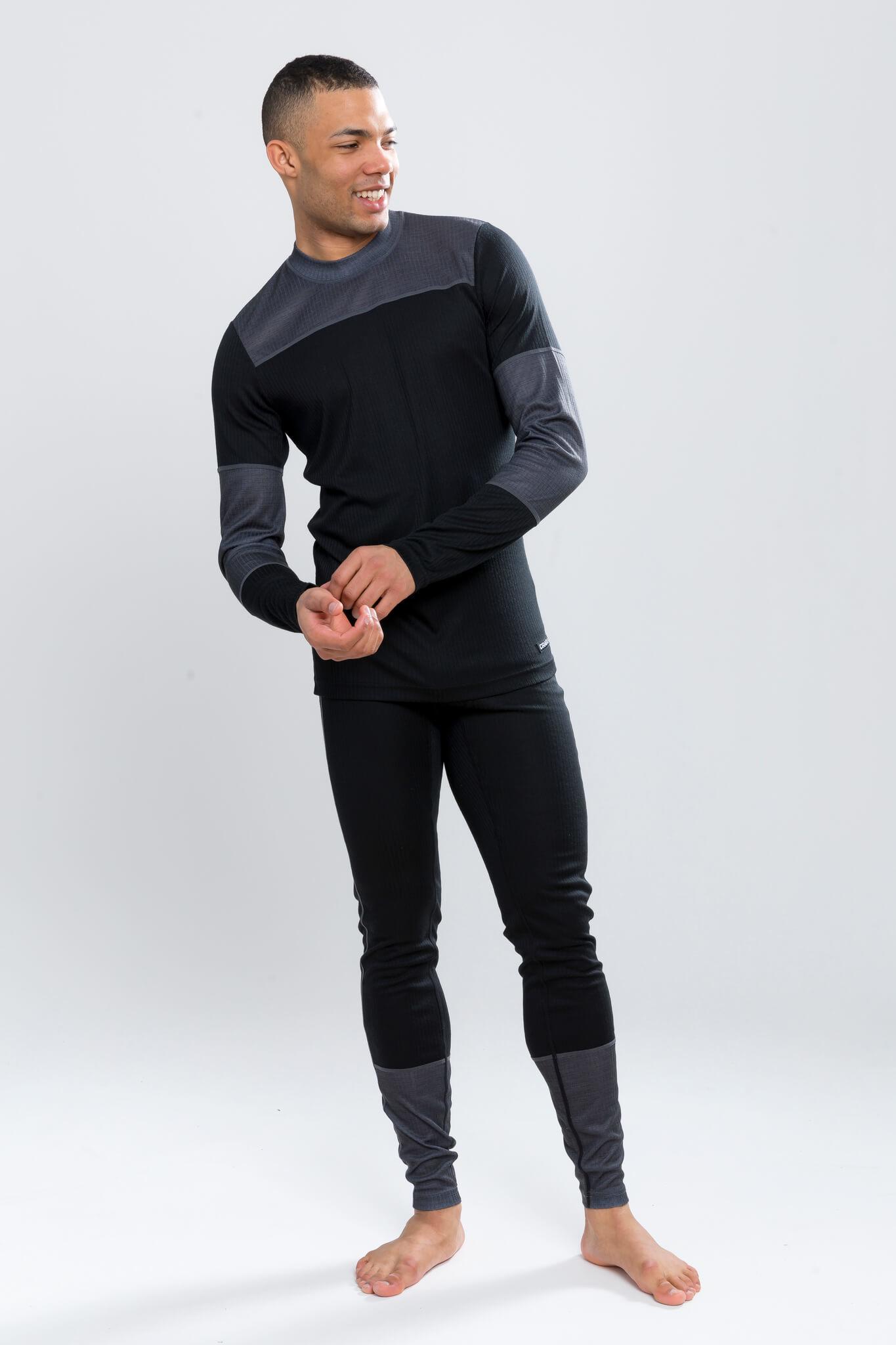 Craft Baselayer мужской комплект термобелья черный-серый - 2