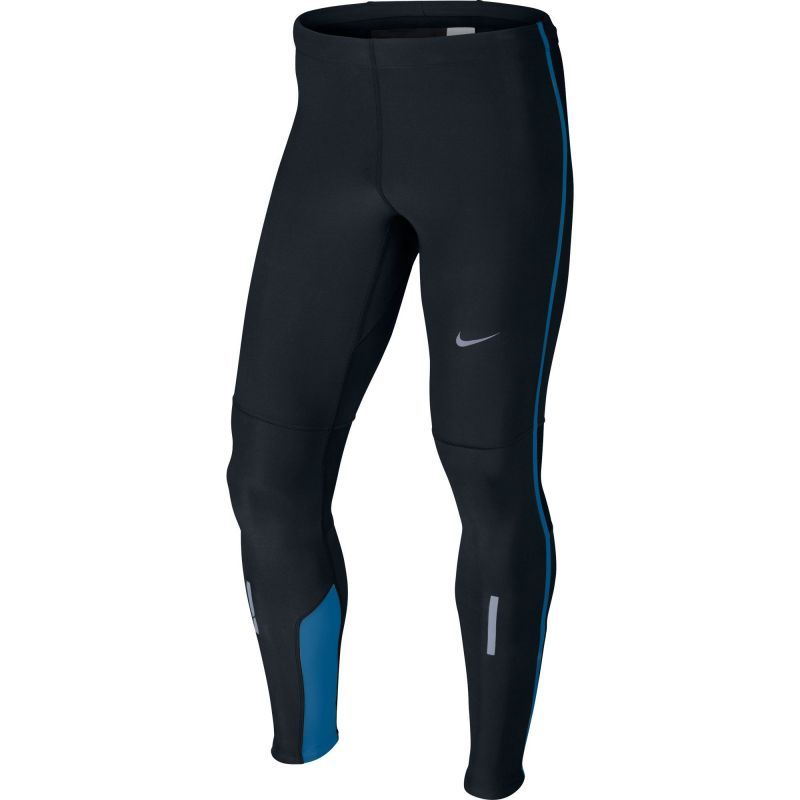 Тайтсы Nike Tech Tight чёрно-синие - 1