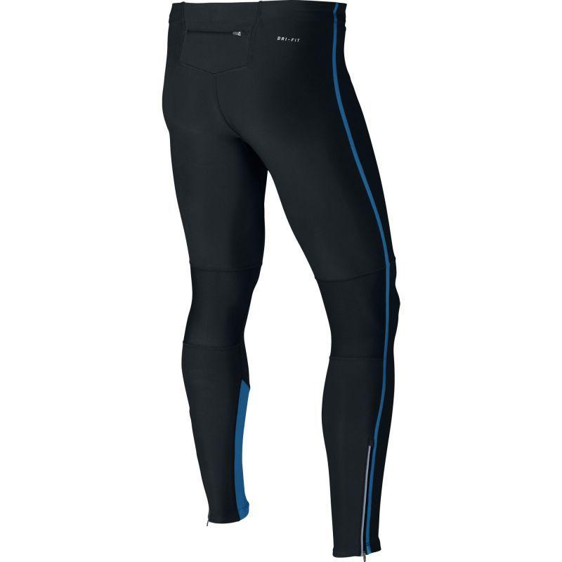 Тайтсы Nike Tech Tight чёрно-синие - 2