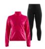 Craft Eaze Charge женский костюм для бега черный-розовый - 1