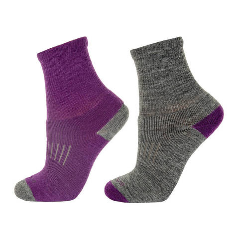 Janus детские термоноски комплект purple