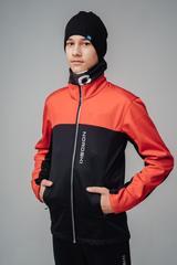 Nordski Jr Active лыжная куртка детская красная-черная