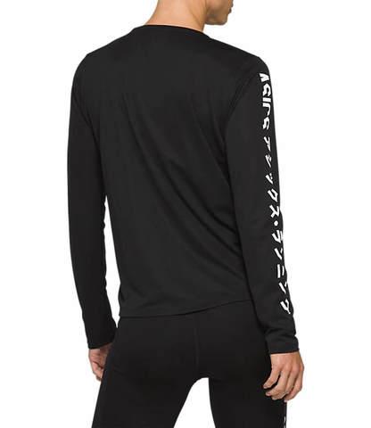 Asics Katakana Ls футболка с длинным рукавом женская черная