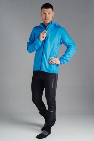 Nordski Jr Run куртка для бега детская Light blue