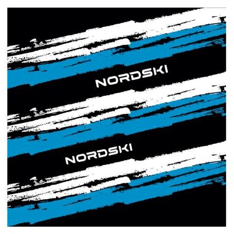 Nordski Stripe многофункциональный баф black