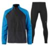Беговой костюм мужской Asics Jacket Tight black-blue - 1
