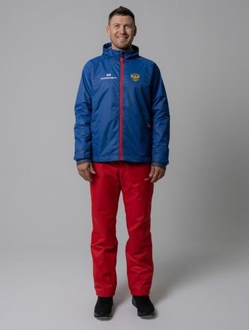 Nordski Light Patriot утепленный ветрозащитный костюм мужской red