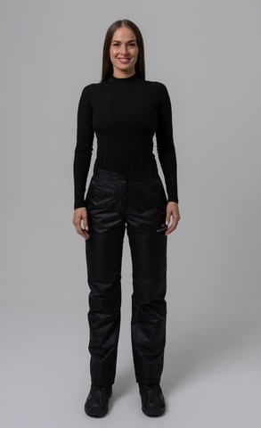 Nordski Light утепленные ветрозащитные брюки женские черные