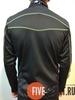 Nordski Active детская разминочная куртка black-lime - 3