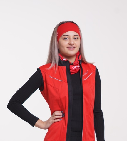 Nordski Premium женский лыжный жилет красный
