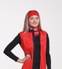Nordski Premium женский лыжный жилет красный - 1