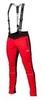 Victory Code Dynamic разминочный лыжный костюм с лямками black-red - 4