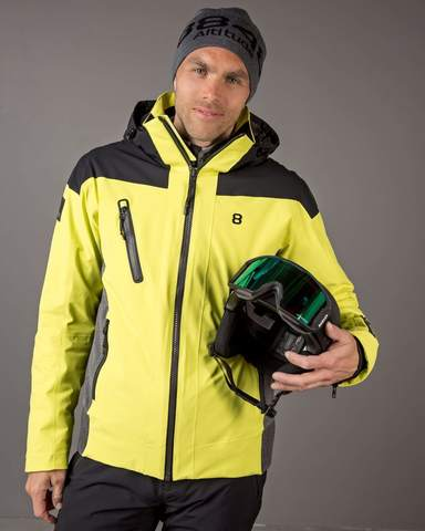 8848 Altitude Long Drive мужская горнолыжная куртка lime