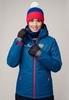 Nordski Patriot Premium утепленный лыжный костюм женский blue-black - 2