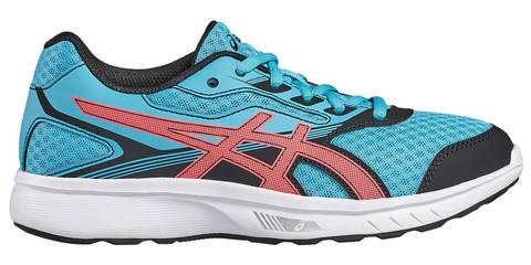 Asics Stormer Gs беговые кроссовки подростковые голубые