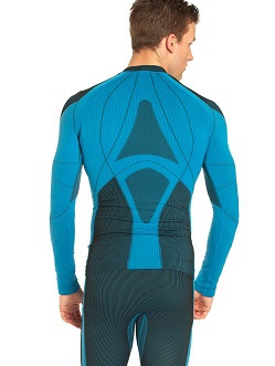 Термобелье Рубашка Craft Warm мужская blue