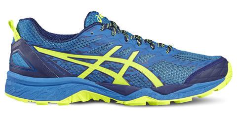 Кроссовки внедорожники мужские Asics Gel Fuji Trabuco 5 синие