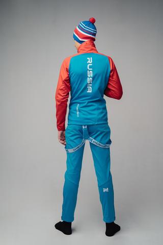Nordski Jr Premium разминочная куртка детская blue-red