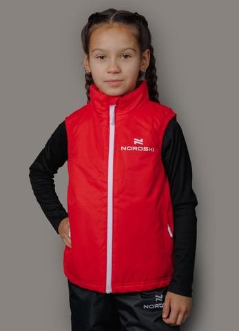 Nordski Kids Россия теплый лыжный жилет детский