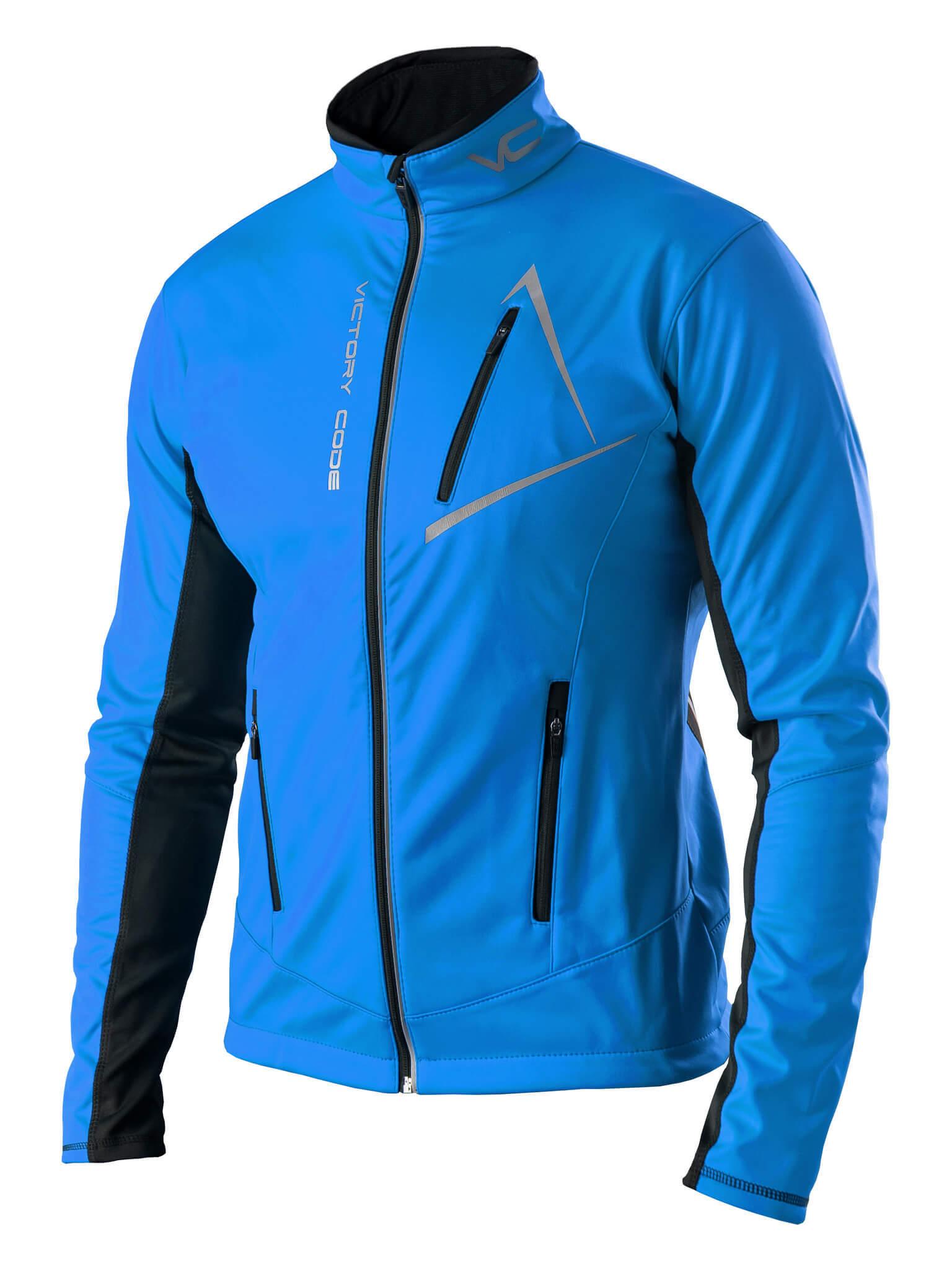 Victory Code Dynamic Warm разминочный лыжный костюм со спинкой blue - 2