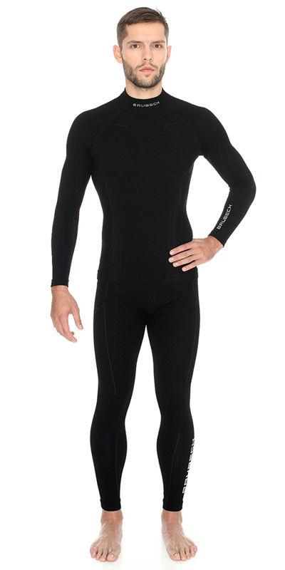 Brubeck Wool Merino мужской комплект термобелья черный - 2
