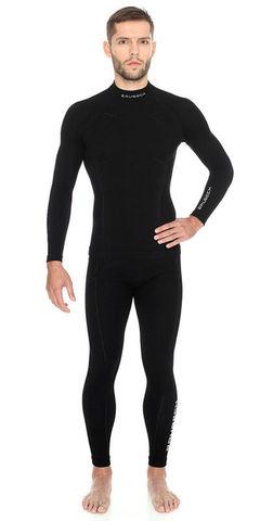 Brubeck Wool Merino мужской комплект термобелья черный