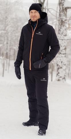 Nordski Pulse теплый лыжный костюм мужской черный