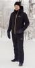 Nordski Pulse теплый лыжный костюм мужской черный - 1