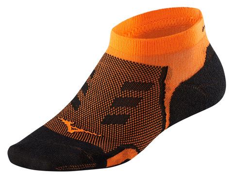 Mizuno Drylite Race Low носки черные-оранжевые