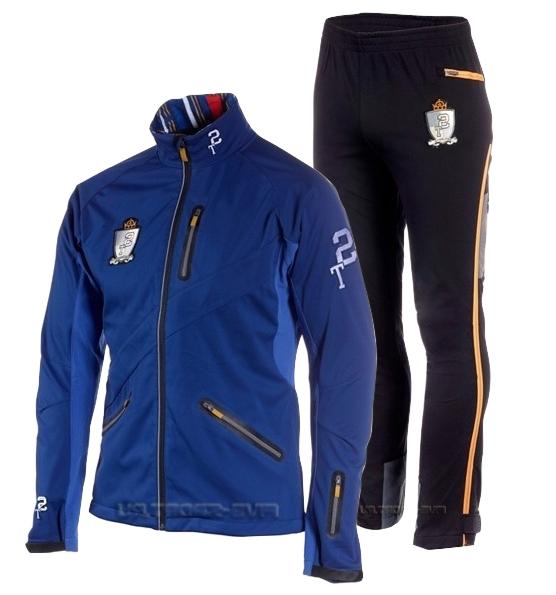 Лыжный костюм ST Pro Dressed Blue-yellow унисекс