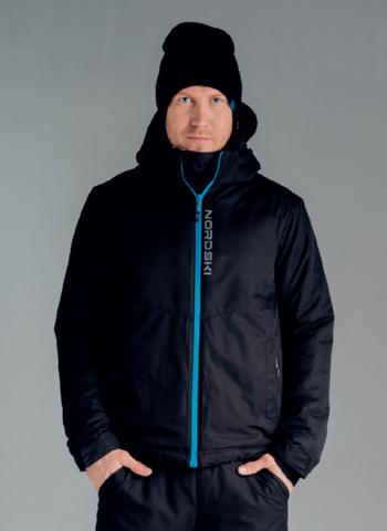 Nordski Montana утепленная куртка мужская черная