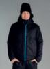 Nordski Montana утепленная куртка мужская черная - 1