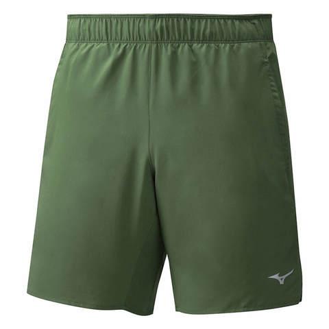 Mizuno Core 7.5 2 In 1 Short шорты для бега мужские зеленые