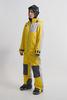 Cool Zone OVER комбинезон женский сноубордический желтый-серый - 2