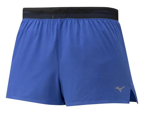 Mizuno Aero Split 1.5 Short беговые шорты мужские синие