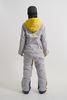 Cool Zone OVER комбинезон женский сноубордический желтый-серый - 4