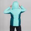 Теплая лыжная куртка женская Nordski Base sky-deep teal - 2