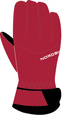 Nordski Jr Arctic Membrane теплые перчатки детские raspberry