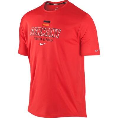 Футболка Nike Challenger Country SS (Germany) красная