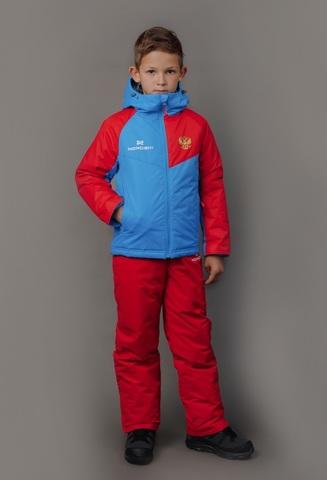 Nordski Kids National 2.0 утепленный лыжный костюм детский red