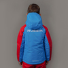 Nordski Kids National 2.0 утепленный лыжный костюм детский red - 3