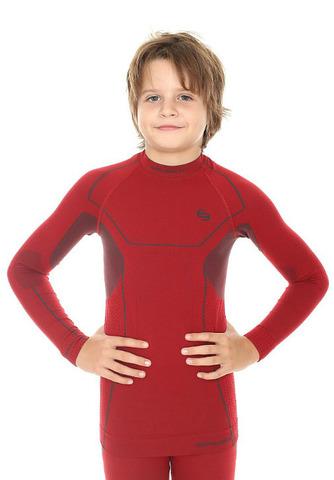Термобелье рубашка детская Brubeck Thermo красная