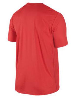 Футболка Nike Challenger Country SS (Germany) красная - 2