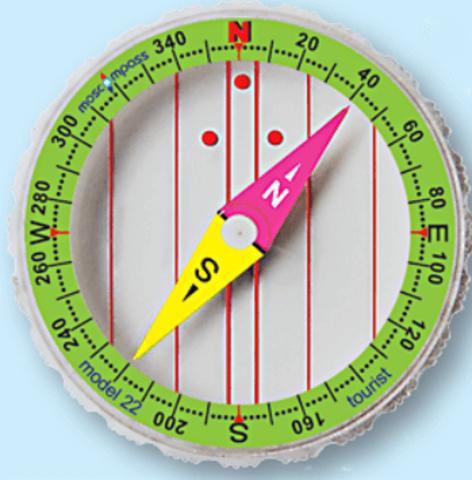 Moscompass 22 туристический компас